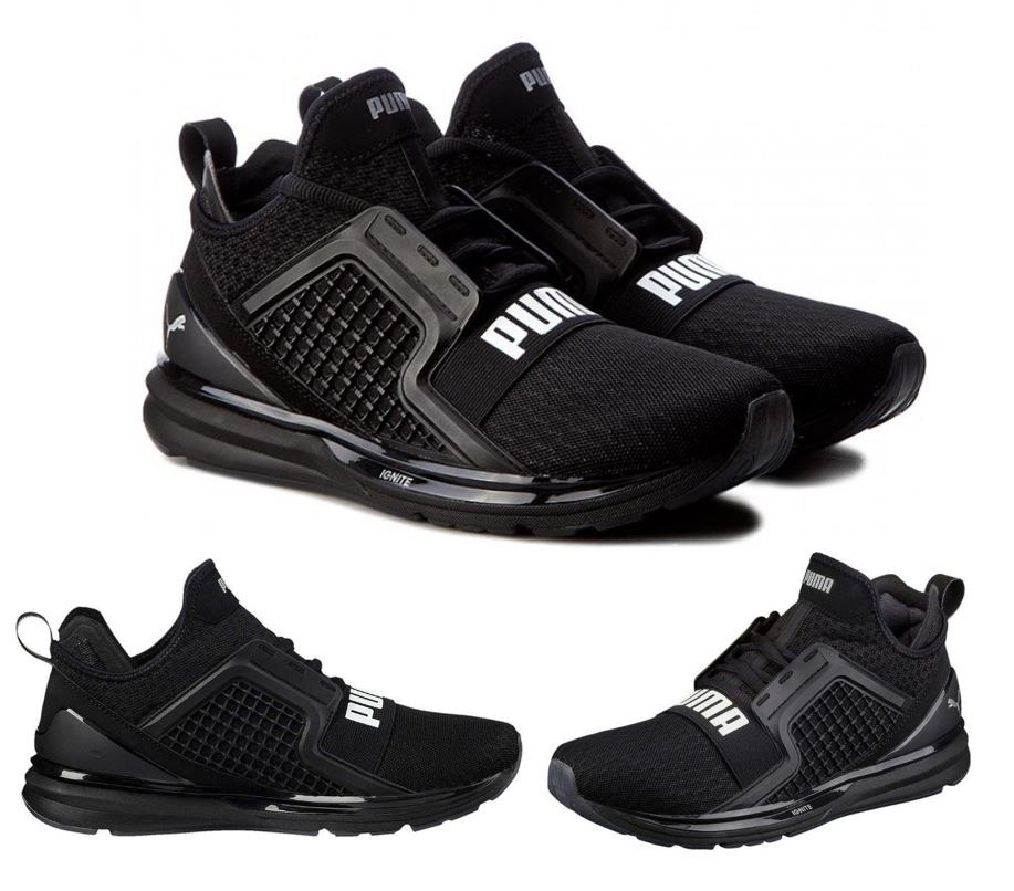 Zapatillas Puma Ignite Limitless Negro Original Stock ...