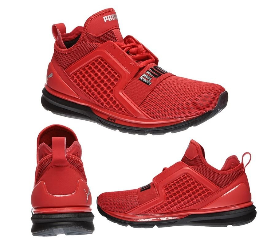 newest d3d13 c5aca Zapatillas Puma Ignite Limitless Original Rojo Stock Tienda
