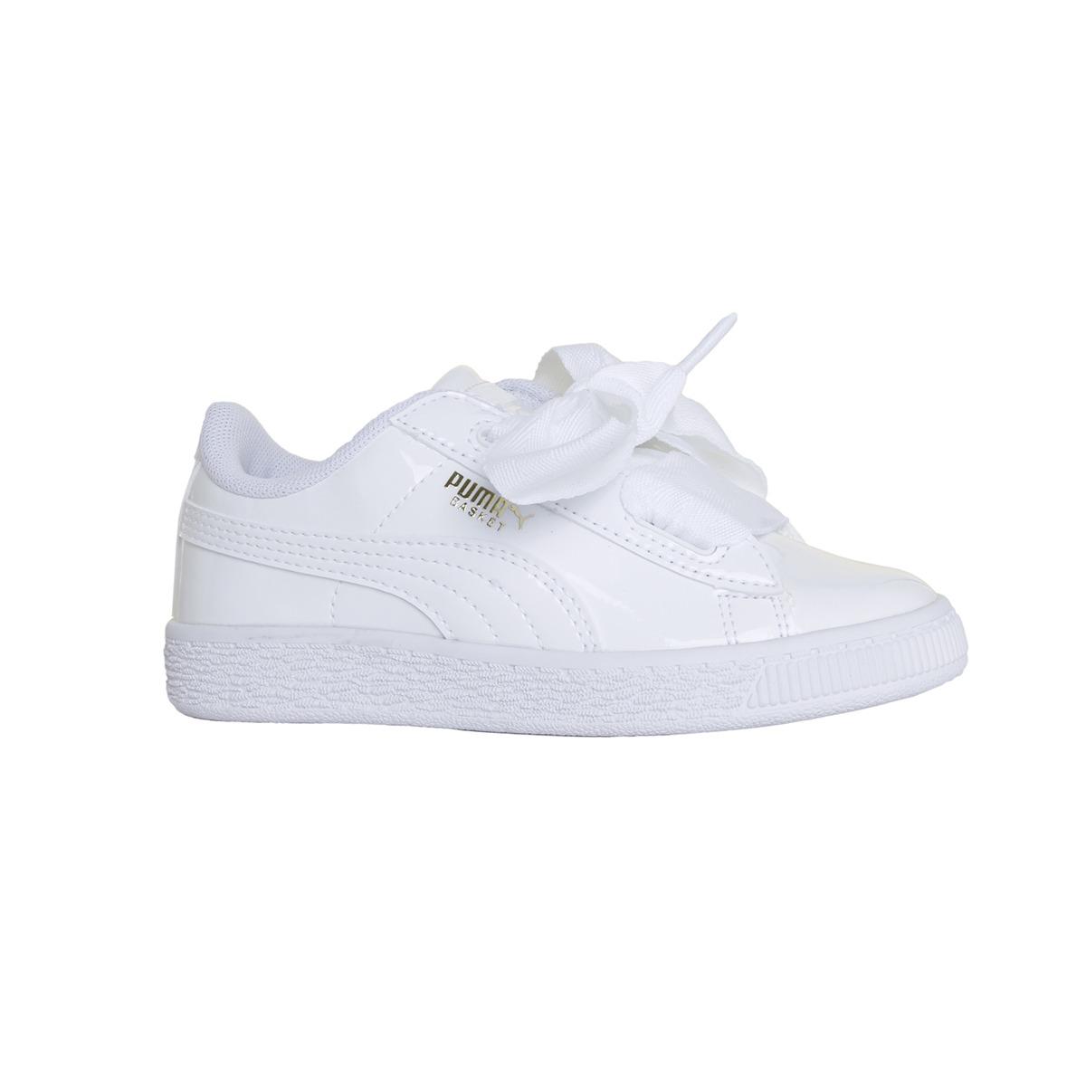 ea0c77601 zapatillas puma moda basket heart patent ps niña bl bl. Cargando zoom.