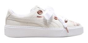 zapatillas blancas puma mujer