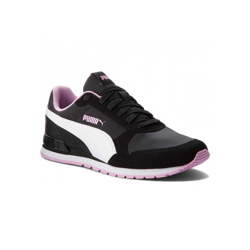 zapatillas puma moda st runner v2 nl mujer ng/bl