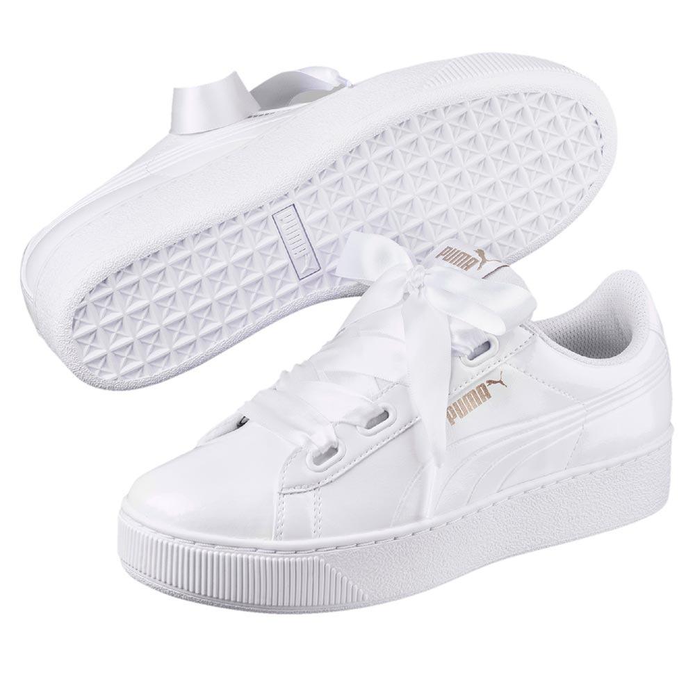 elige lo último diseño innovador correr zapatos Zapatillas Puma Mujer Vikky Platform Ribbon 2018842-sc