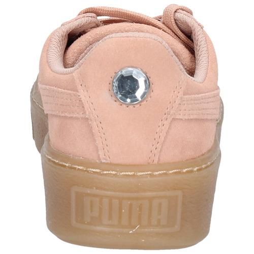 zapatillas puma niñas suede platform jewel-1187