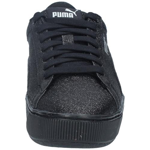 zapatillas puma niños gs urbana vikky platform glitz negra-2
