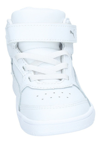 zapatillas puma niños td urbana rebound street v2 l v blanca
