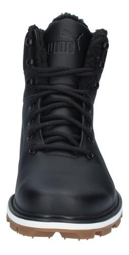 zapatillas puma outdoor hombre desierto fun leather negro-14