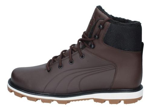 zapatillas puma outdoor hombre desierto funleather chocolate