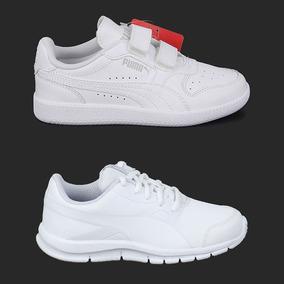 Zapatillas Escolares Blancas Adidas Zapatillas en Mercado