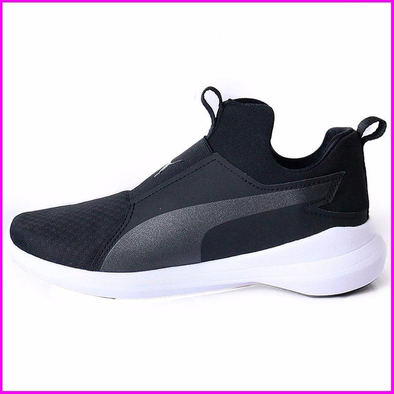 zapatillas negras puma mujer