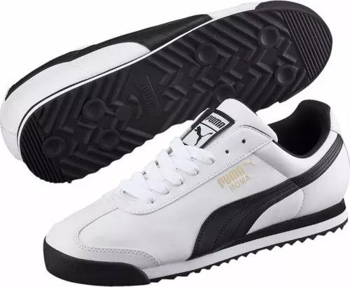 Zapatillas Puma Roma Basic Blancas Para Hombre Ndph