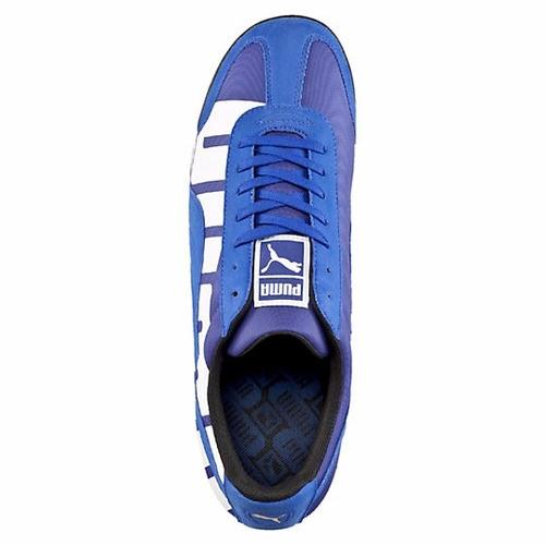 zapatillas puma roma big logo de caballero  en caja ndph