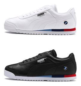 zapatillas puma hombre blancas y negras