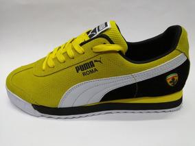 zapatillas puma hombre amarilla