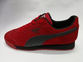 zapatillas hombre puma rojas