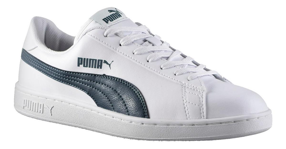 puma smash v2 l blancas