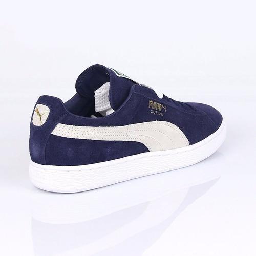 zapatillas puma suede classic azul de gamuza ndph