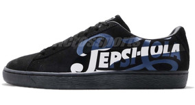 Zapatillas Puma Suede Classic Pepsi Black A Pedido_exkarg