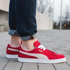 puma zapatilla hombre roja