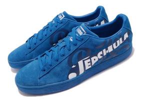 Zapatillas Puma Suede Classic X Pepsi Blue A Pedido_exkarg