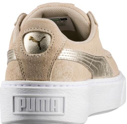 zapatillas puma suede platform mujer