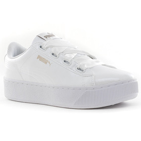 zapatilla puma blanca mujer