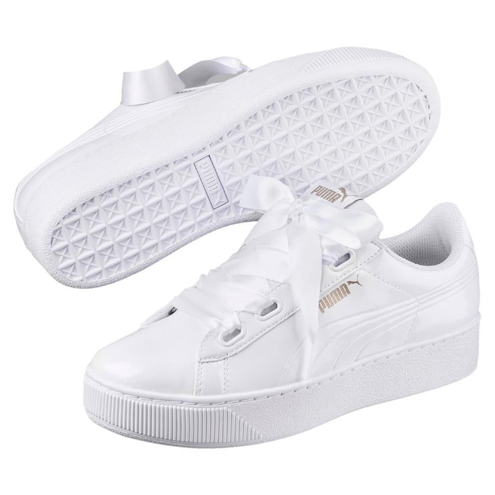puma platform blancas