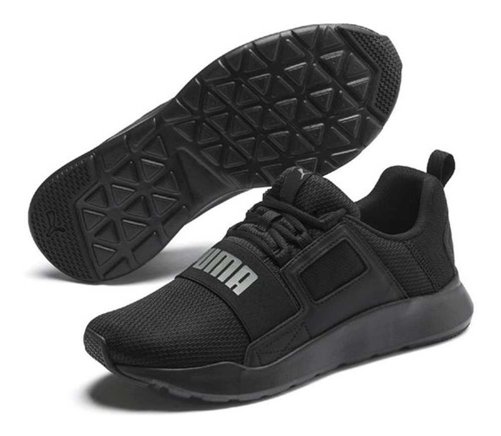 Zapatillas Puma Wired Cage M Negra Hombre Moda Urbanas
