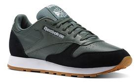 Zapatillas Reebok Cl Leather Para Hombre Nuevo Ndph