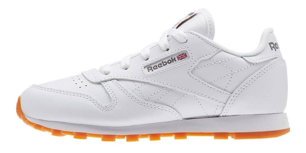 a018300a97 Zapatillas Reebok Classic Leather Blanco Hombre - $ 3.499,00 en ...