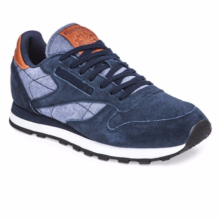 Zapatilla Sportwear Reebok CLASSIC LEATHER Azul 45 L9q7q