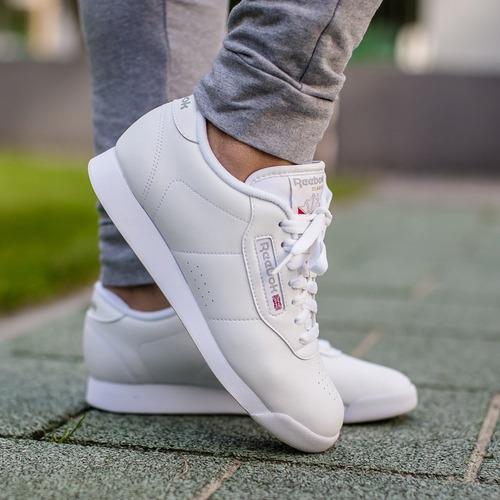 zapatillas reebok de mujer princess blanco original nuevo