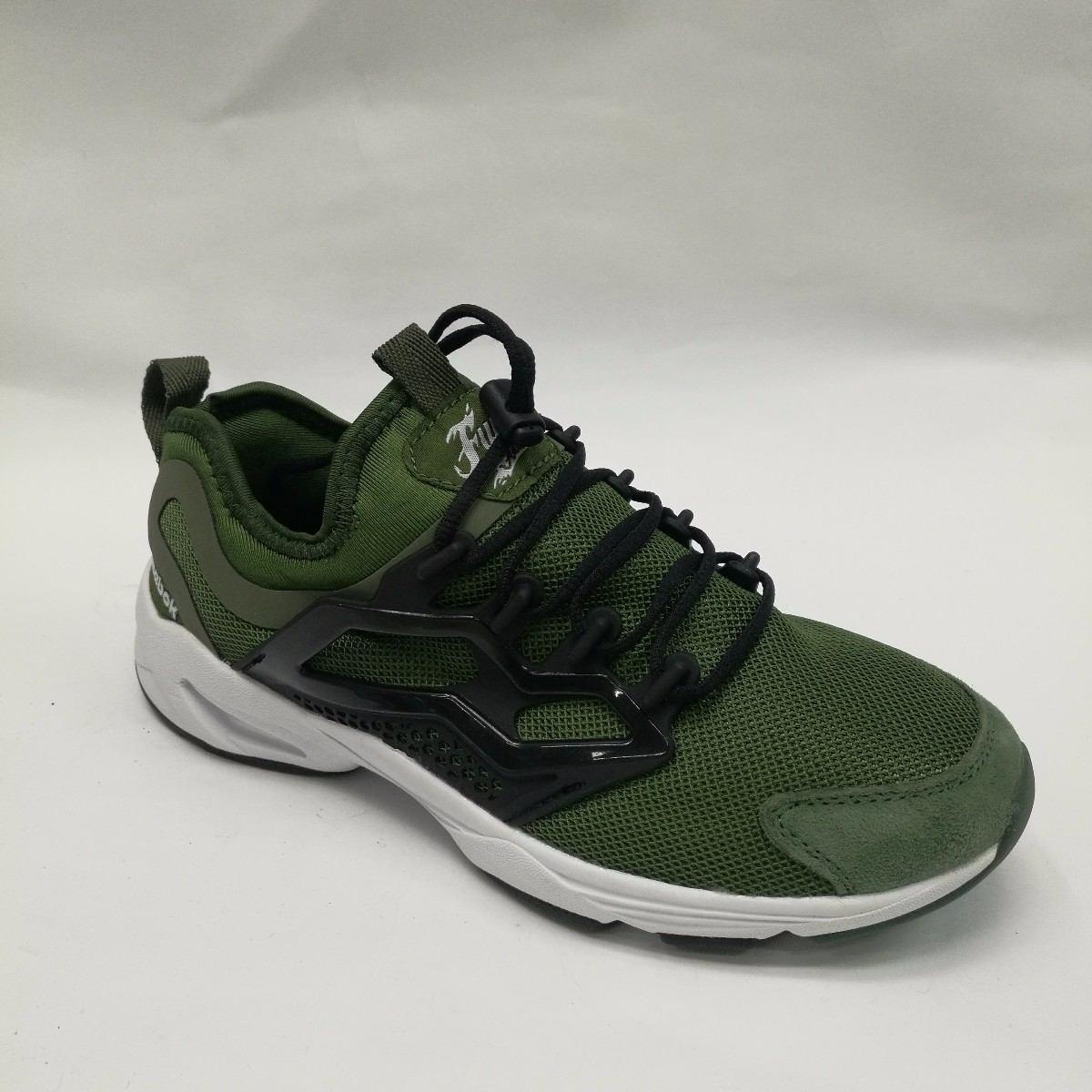 Reebok Zapatillas Para Hombre Verde Verde, Color Verde, Talla 41