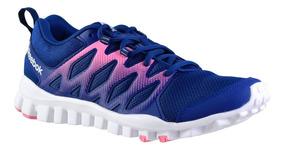 Zapatillas Reebok Realflex Train 4.0 Mujer Azul