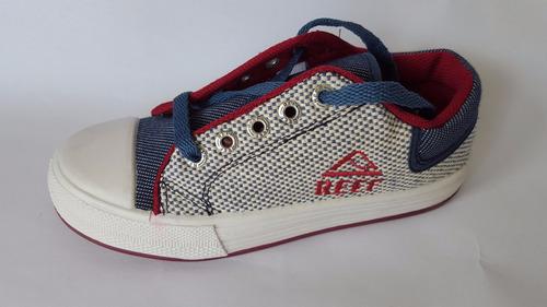 zapatillas reef panama marino nuevas originales para nenes