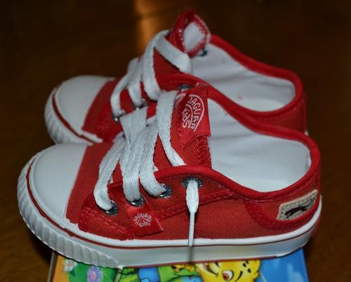 zapatillas rojas jaguar kids ultimo par ta23 little treasure