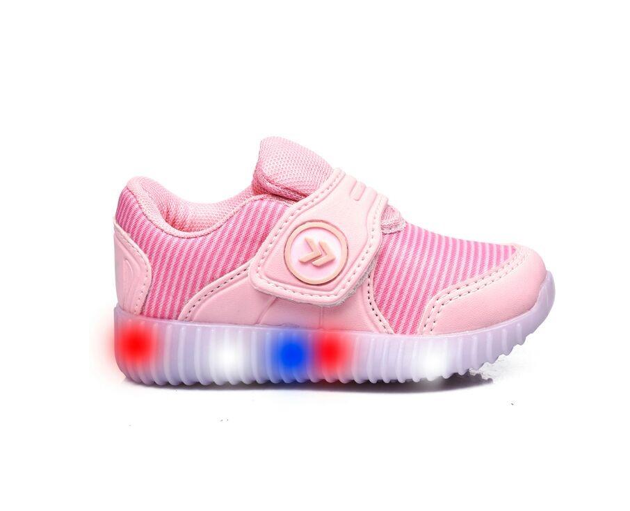 82f42affd zapatillas rosas atomik con luz abrojo nena 20 26 deportivas. Cargando zoom.