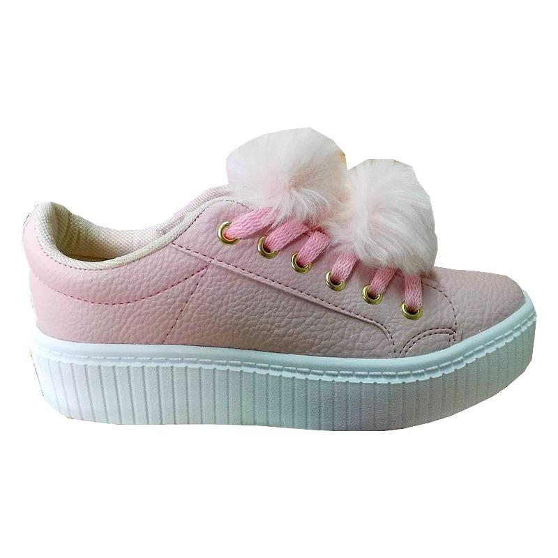 cdc5d3162c Zapatillas Rosas Pompom Moda Urbanas Mujer Verano 2018 - $ 1.200,00 ...