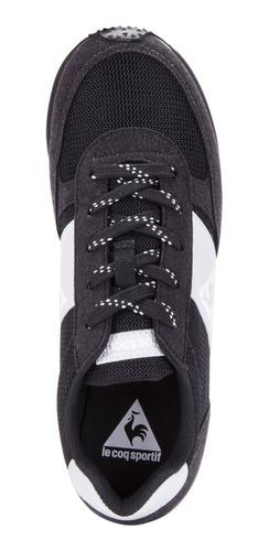 zapatillas runner negro unisex le coq sportif original