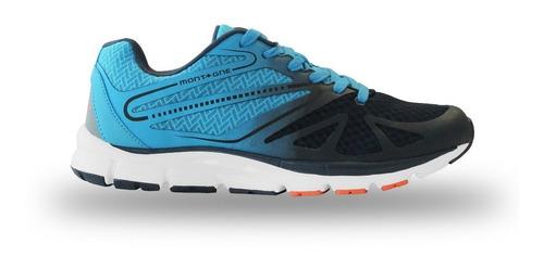 zapatillas running montagne jump azul