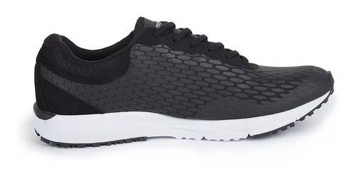 zapatillas running montagne smooth ride negro y gris