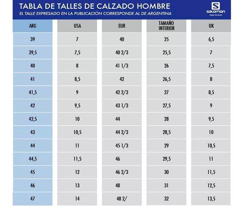 zapatillas salomon alpha cross running senderismo hombre