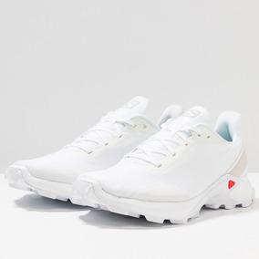 comprar zapatillas salomon mujer baratas blancas