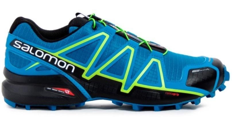 Zapatillas Salomon Hombre Speedcross 4 Cs Mykonos - 398425