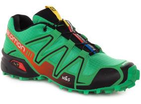 zapatillas salomon speedcross 3 hombre verde militar
