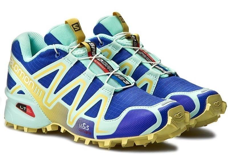 zapatillas salomon hombre azules 37 jewel