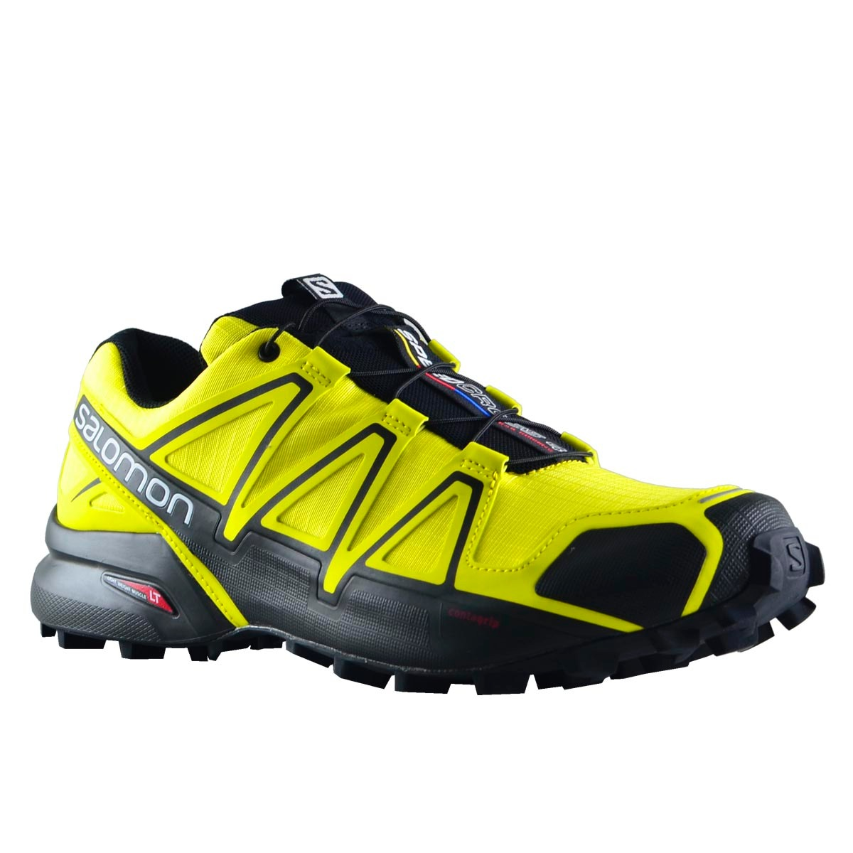 2515ef3bedd zapatillas salomon speedcross 4 hombre amarillo. Cargando zoom.