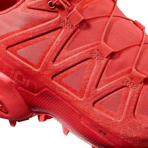 zapatillas salomon caracteristicas rojas