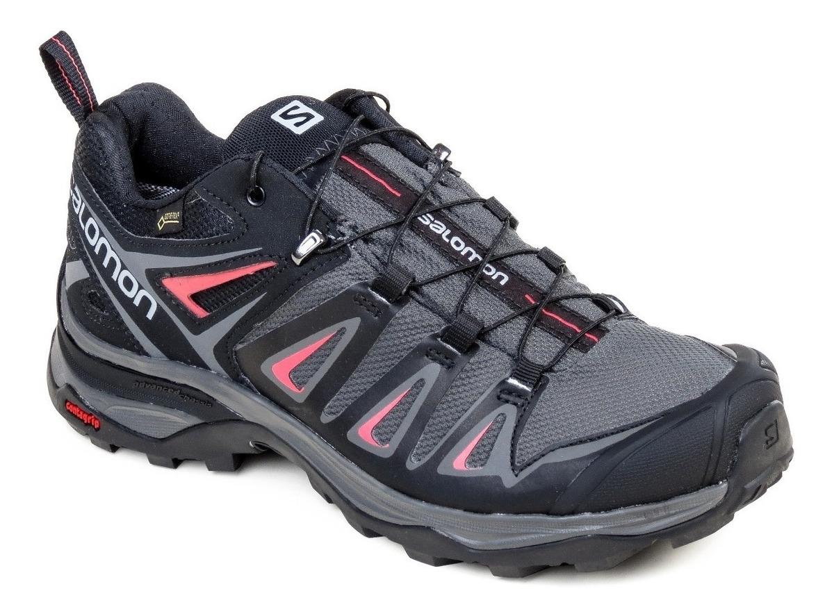 Zapatillas Salomon Trekking Mujer Impermeable en Mercado