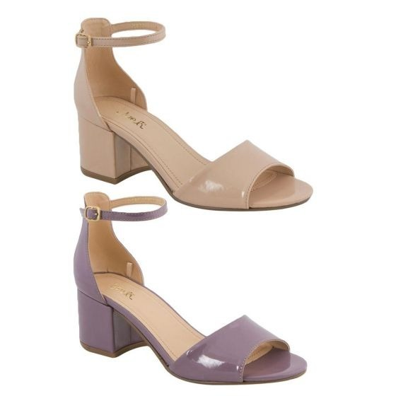 Morado Sandalias 2 Nude Kit Charol De Color Zapatillas Pares kuXiPZ