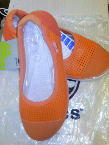 zapatillas sandalias zapatos crocs para damas y niñas.